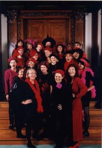 Jubiläumsprogramm zum zehnten Chorjubiläum